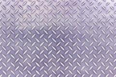 Metalu podłogowego talerza wzór fotografia royalty free