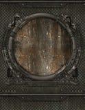 metalu porthole zdjęcie royalty free
