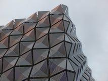 Metalu powlekanie na budynku obrazy stock