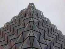 Metalu powlekanie na budynku zdjęcie royalty free