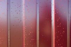Metalu Profil Przekątna wzór metalu profil Ogrodzenia od galwanizującego żelaza malowali spolimeryzowanym nakryciem Zdjęcie Stock