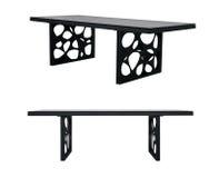 Metalu projekta stołu biurko Fotografia Stock