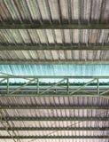 Metalu prześcieradła dach z izolacją gofruje obrazy royalty free