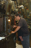 metalu przemysłowy pracownik Fotografia Stock