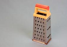 Metalu pudełkowaty grater Zdjęcia Stock