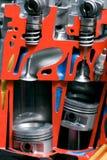 Metalu rżnięty silnik Obrazy Royalty Free