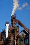 metalu rośliny stal Ukraine Obrazy Stock
