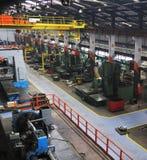 Metalu salowy industy fabryczny obrazy stock