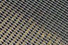 Metalu siatki wzór Zdjęcie Royalty Free
