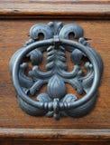 Metalu stary door-handle obraz royalty free