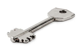 Metalu stary klucz Zdjęcie Royalty Free