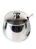 metalu sugarbowl Zdjęcie Stock