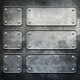 metalu szablon Obraz Stock