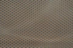 Metalu sznurka sieć z cieniem Obraz Royalty Free