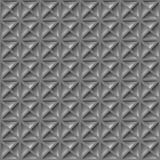 Metalu talerz Naprzeciw trójboka Emboss bezszwowego wzór Fotografia Stock