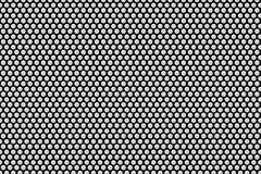 Metalu talerz z wiele czarnymi kropkami Obraz Stock