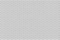 Metalu talerz z wiele czarnymi kropkami Obraz Royalty Free