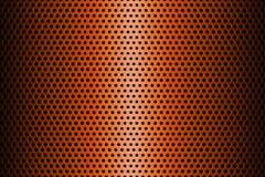 Metalu talerz Zakrywający z liniami Kółkowe dziury świadczenia 3 d Zdjęcie Royalty Free
