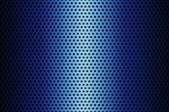 Metalu talerz Zakrywający z liniami Kółkowe dziury świadczenia 3 d Obrazy Royalty Free