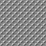 Metalu talerza krzyża Diamentowy bezszwowy wzór Zdjęcia Royalty Free