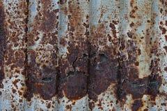 metalu talerza ośniedziały tekstury cynk Zdjęcie Royalty Free