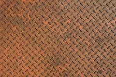Metalu talerza tło Obrazy Stock