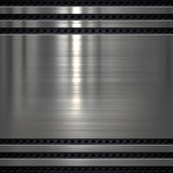 Metalu talerza tło Zdjęcie Stock