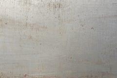 Metalu talerza tekstura, czysty metalu talerz Zdjęcia Stock