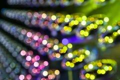 Metalu toczny owal odzwierciedlający jako abstrakcjonistyczny tło Zdjęcie Stock