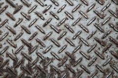 Metalu wzoru talerz Zdjęcia Stock