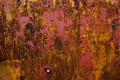Metalu Zrudziałej Tekstury Abstrakcjonistyczny Grunge Tło Obraz Stock