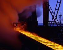 Metalurgia industrial Fotografia de Stock Royalty Free