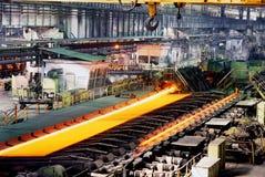 Metalurgia industrial imagens de stock