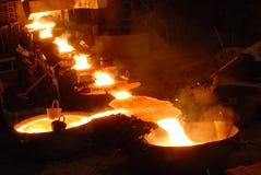 Metalurgia industrial fotografía de archivo libre de regalías