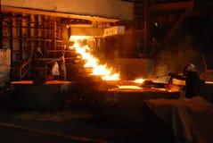 Metalurgia industrial foto de archivo libre de regalías