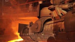 Metalurgiczna roślina, gorący metalu kasting Maszynowy taphole taranować wyposażenie metalurgiczny zbiory