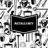 Metalurgiczny tło projekt Zdjęcie Stock