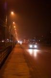 Metalurgiei boulevard by night Stock Image