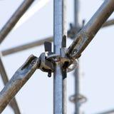Metalware de noeud de fixation Images libres de droits