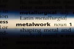 metalwork image stock