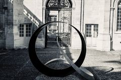 Самый лучший metalwork художественного произведения Авиньона Франции стоковые изображения rf