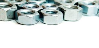 metalwork Montage en métal sur un fond blanc photos libres de droits