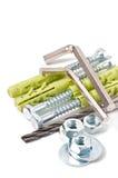 Metalwork narzędzia Zdjęcie Royalty Free