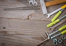 Metalwork narzędzia Obrazy Royalty Free
