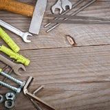 Metalwork narzędzia Zdjęcia Royalty Free