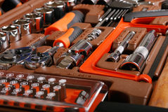 Metalwork toolbox Royalty Free Stock Photo