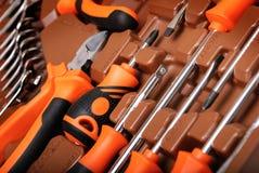 Metalwork toolbox Stock Photography