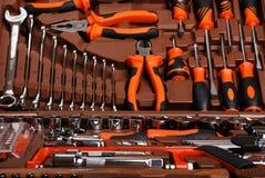 Metalwork toolbox Royalty Free Stock Photo