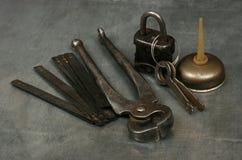 Metalwork tools 1 Royalty Free Stock Photos