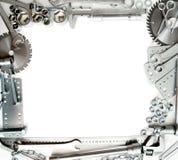 metalwork Władca, wyrwanie, śruba i inny, narzędzia Obrazy Stock